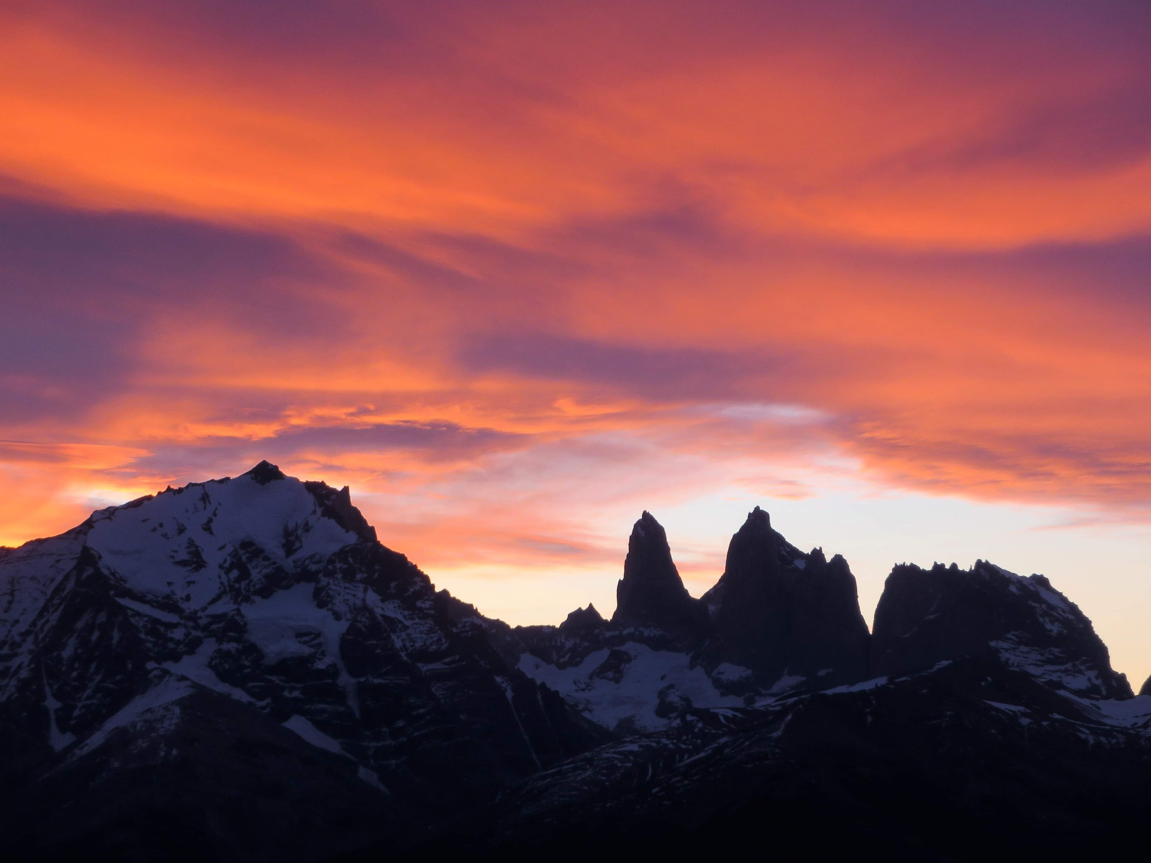 Sud America_Cile_Parco Nazionale Torres del Paine_Awasi_Tramonto